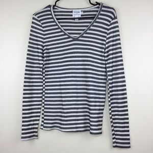 Michael Stars For Anthropologie Striped Knit Top